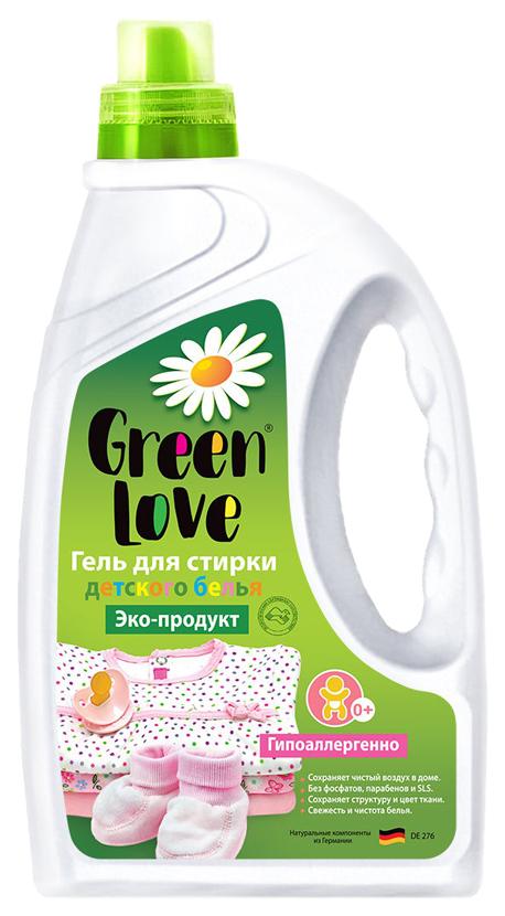 Гель Green Love эко для стирки детского белья от 0+ 1350 мл.