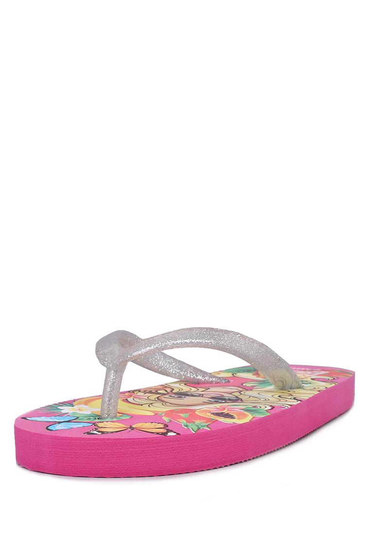 Купить DY19SS-5, Сланцы детские Barbie, цв. розовый р.27,