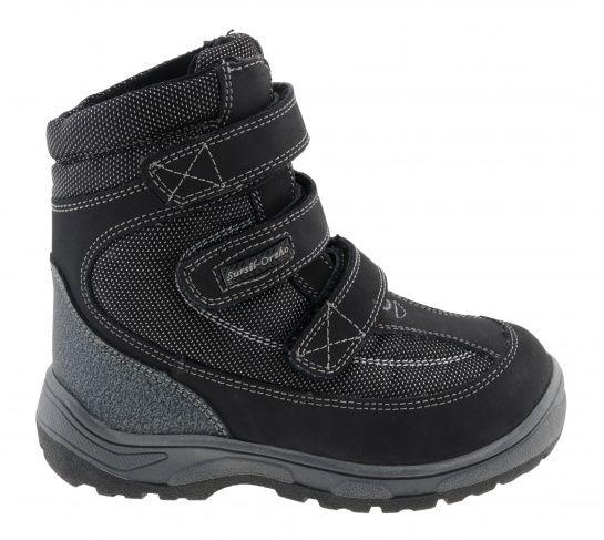 Ботинки зиминие А43 038 Sursil Ortho черный,