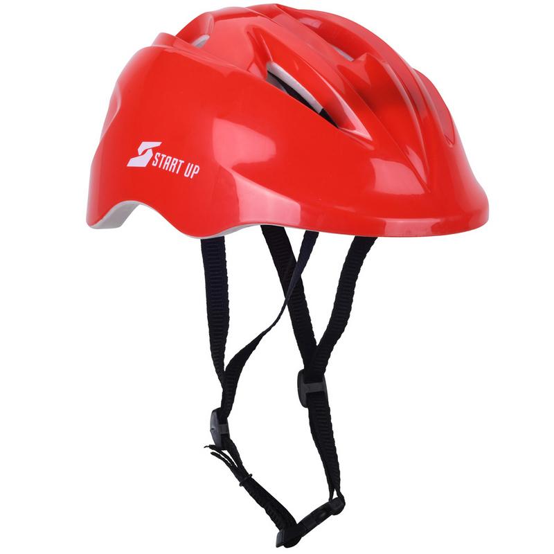 Шлем роликовый Start Up Solo красный,