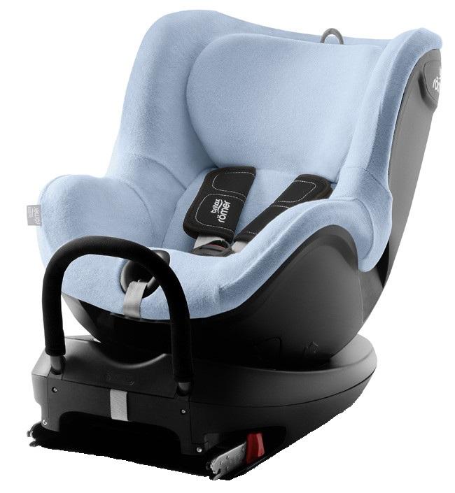 Купить Летний чехол для автокресла Britax Roemer Dualfix2 голубой, Britax Romer, Чехлы на детское автокресло