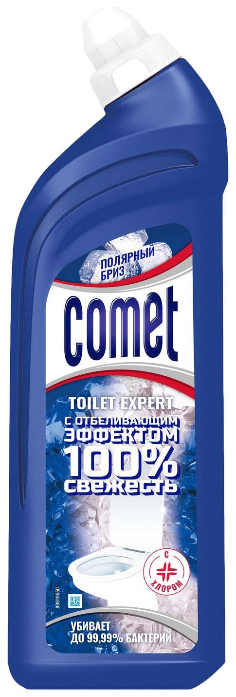Чистящее средство Comet туалет эксперт полярный бриз