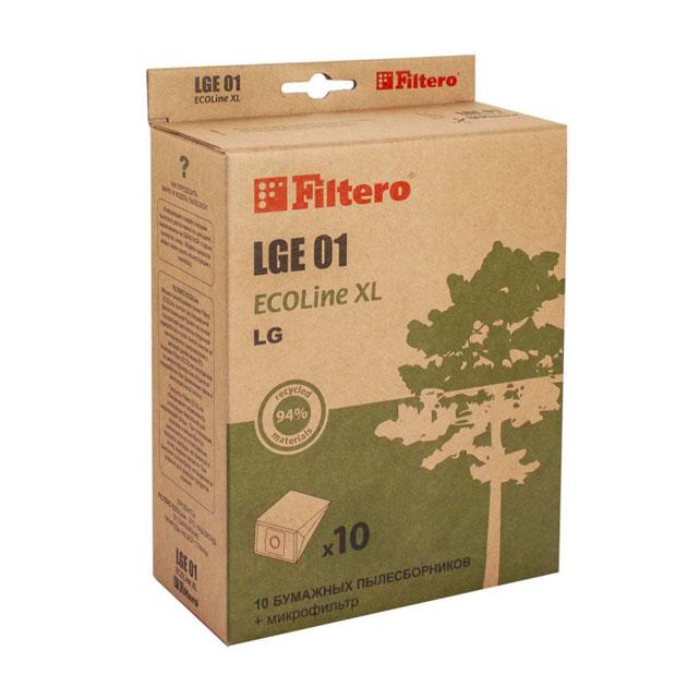 Пылесборник для пылесоса Filtero LGE 01 ECOLine XL 10 шт