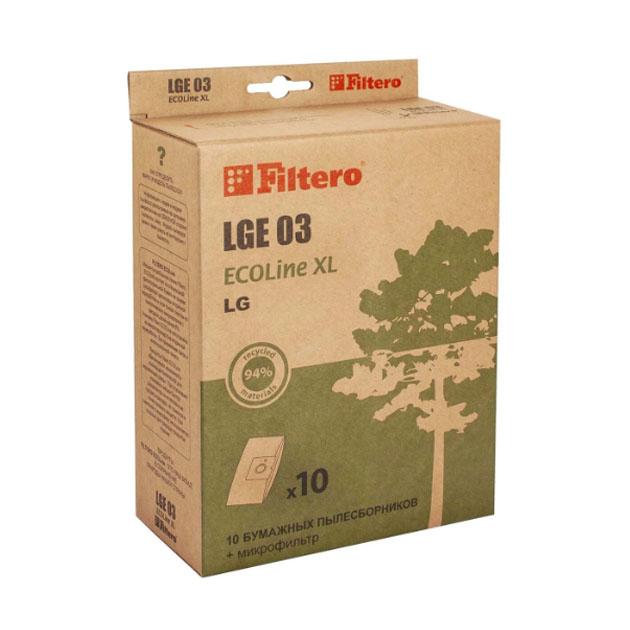 Пылесборник для пылесоса Filtero LGE 03 ECOLine XL 10 шт