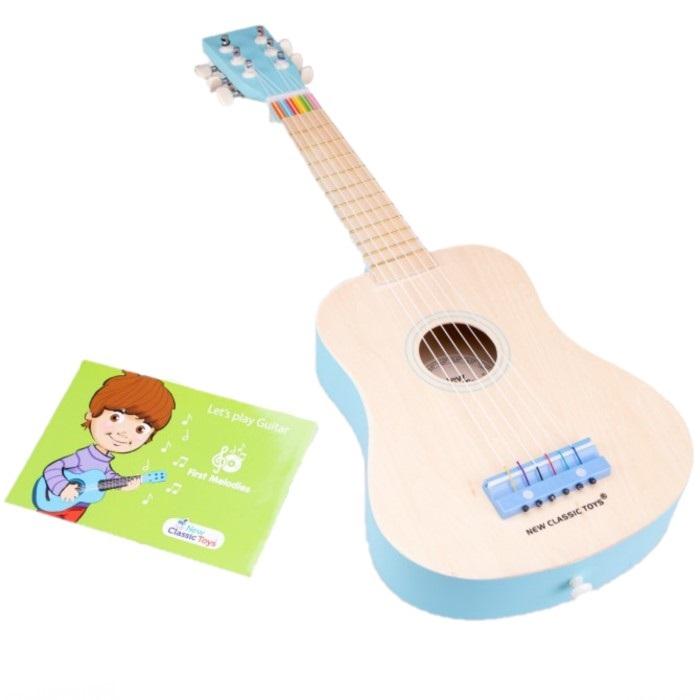 Гитара (голубая)