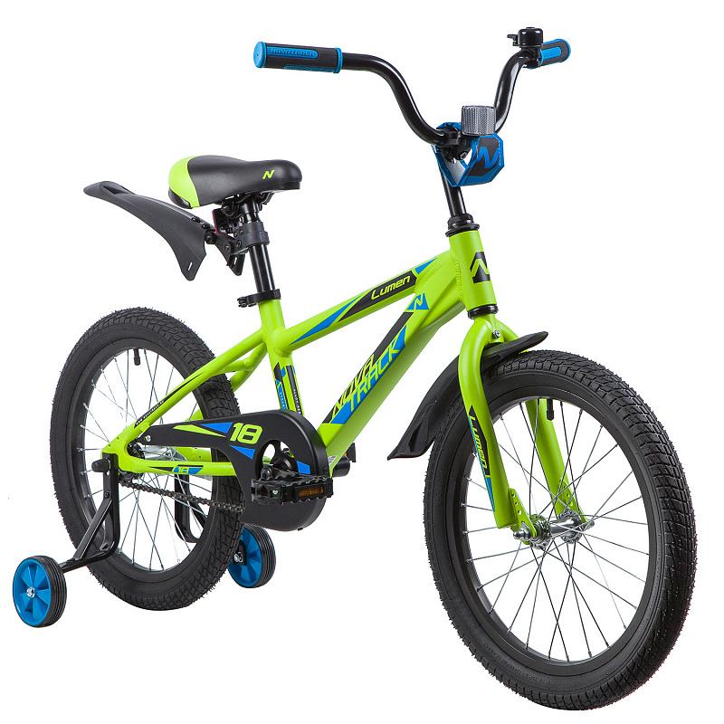 Велосипед Novatrack Lumen зеленый 18\