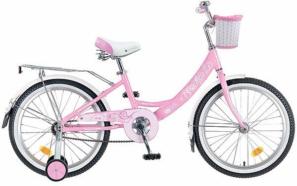 Купить Велосипед Novatrack Girlish line розовый 20 ,