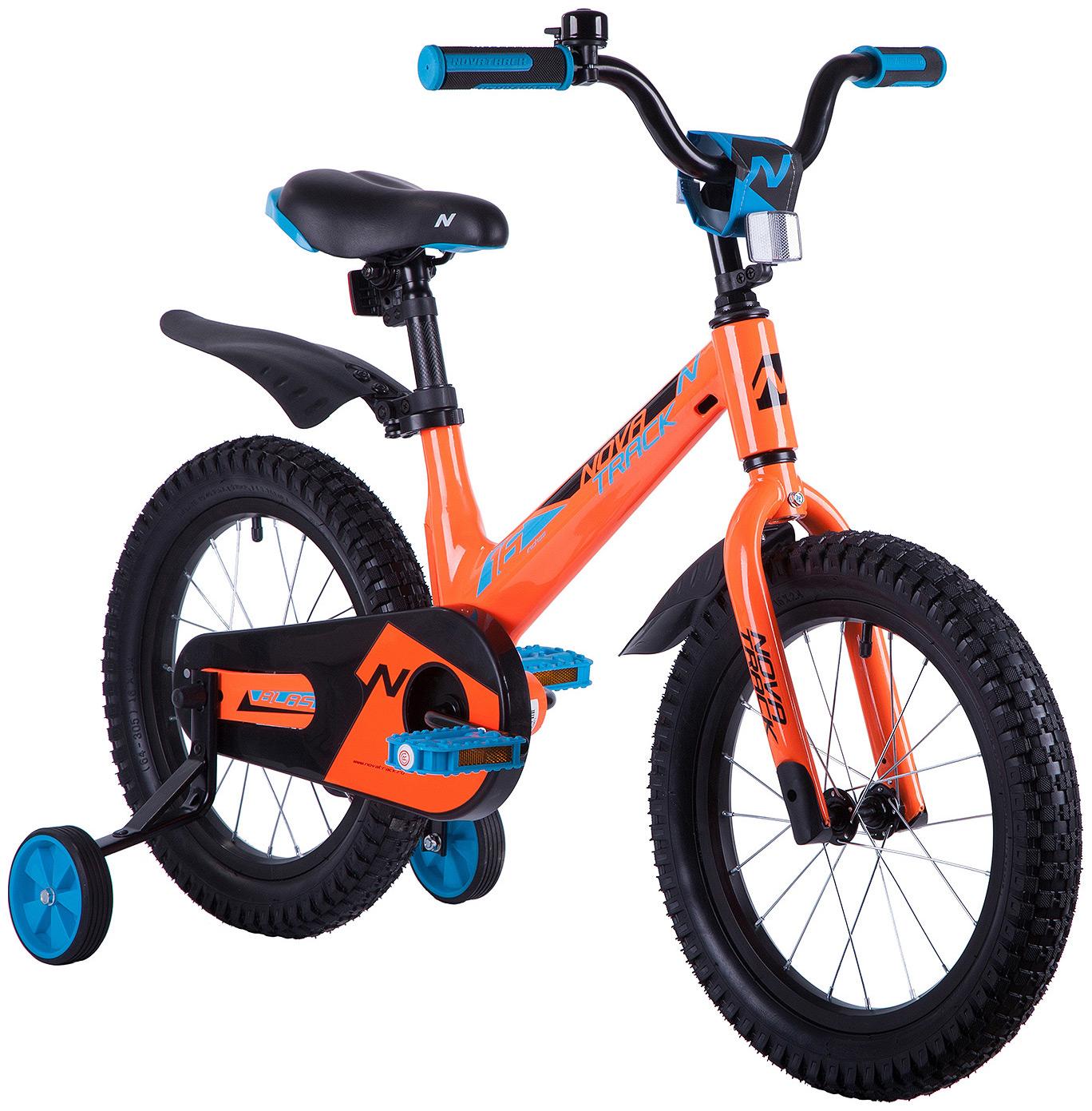 Купить Велосипед Novatrack Blast оранжевый 16 ,