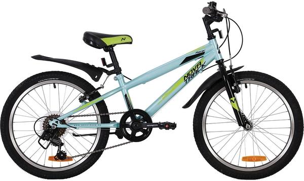 Велосипед Novatrack Racer голубой 20\