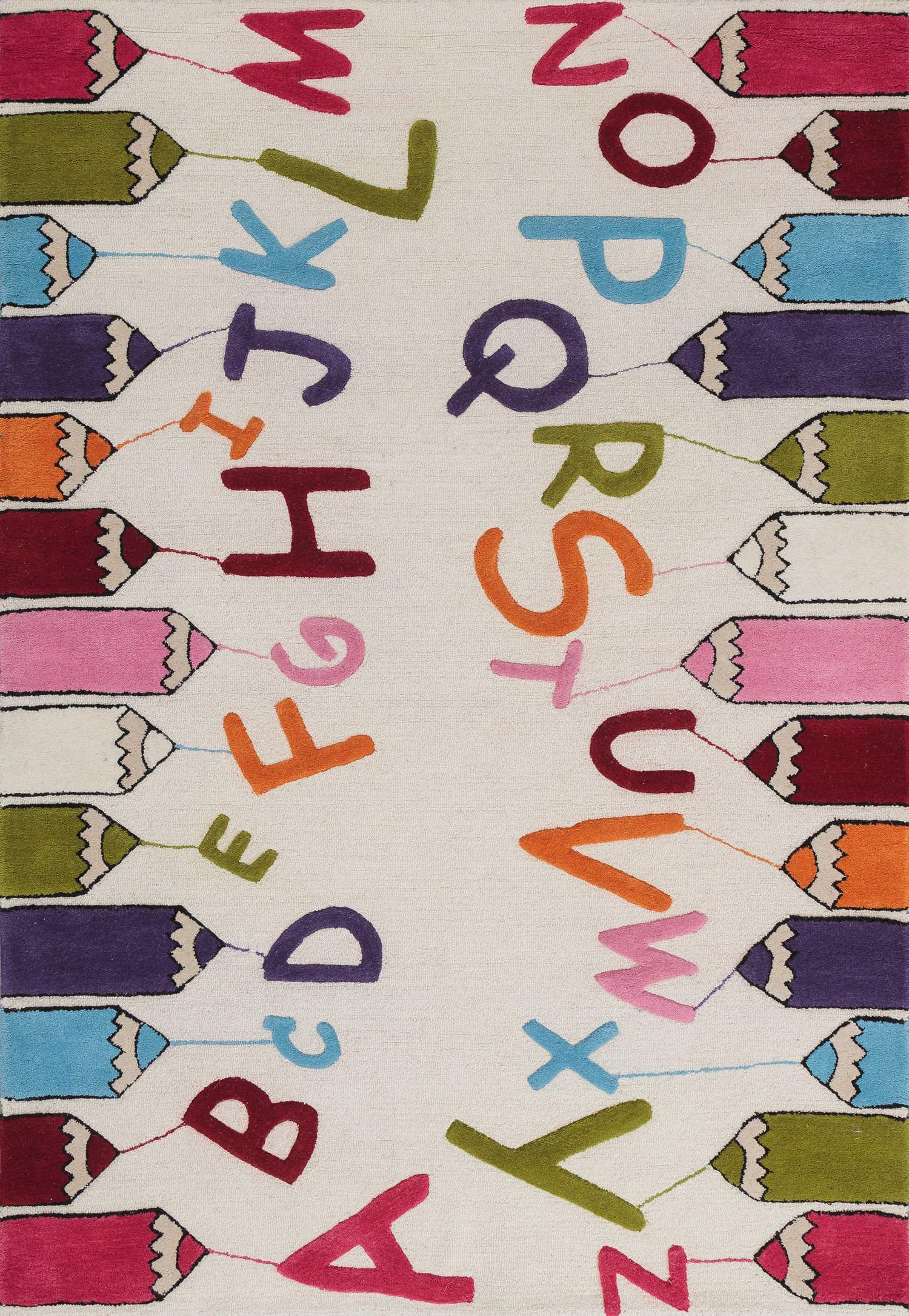 Шерстяной ковер ручной набивки коллекции «Kids Collection», 41050, 160x230 см