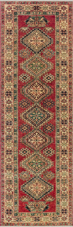 Шерстяной ковер ручной работы коллекции «Kazak Royal», 53524, 80x243 см