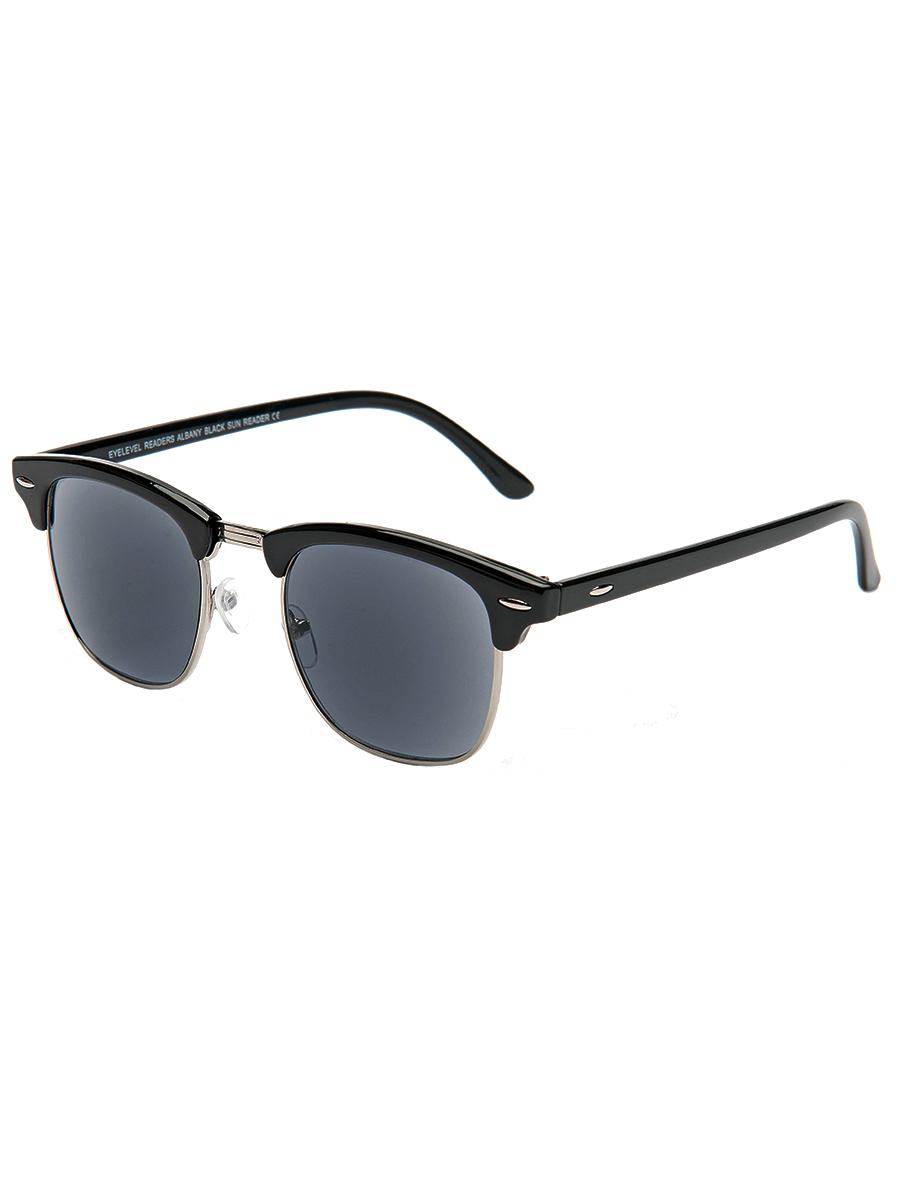 Купить Очки для чтения c солнцезащитными линзами EYELEVEL ALBANY BLACK SUN READER +1.5