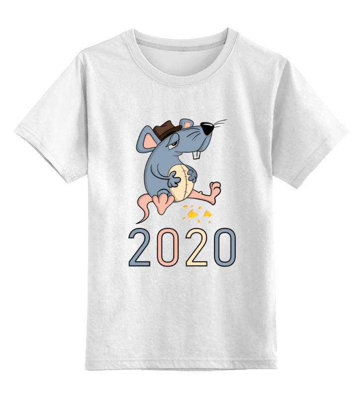 Детская футболка Printio Крыса цв.белый р.140 0000002894685 по цене 790
