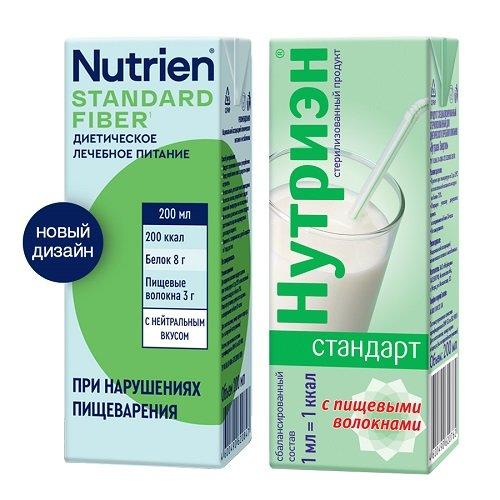 Нутриэн Стандарт стерилизованный с пищевыми волокнами