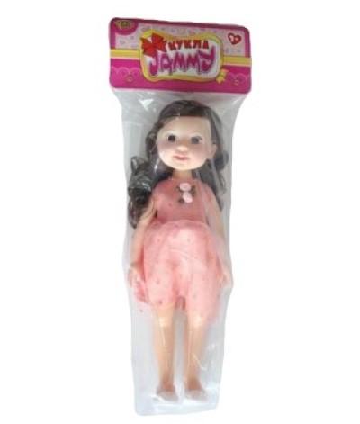 Купить Кукла Jammy, в розовом платье 32 см, Yako Toys,