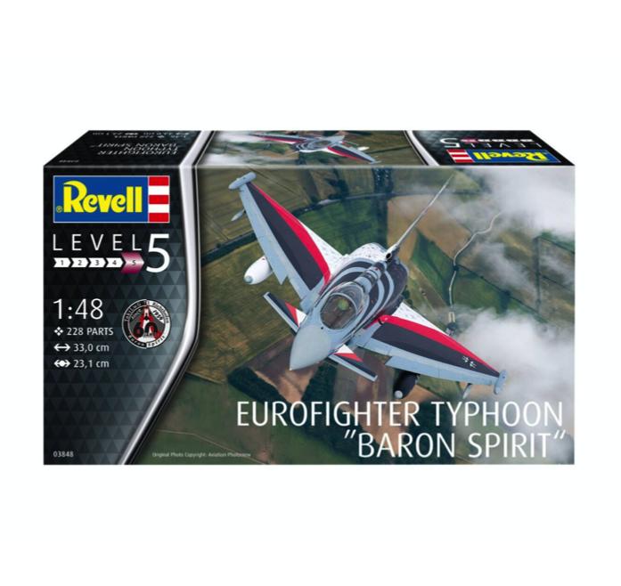 Купить Сборная модель 'Многоцелевой истребитель Тайфун. Барон Спирит, Revell,