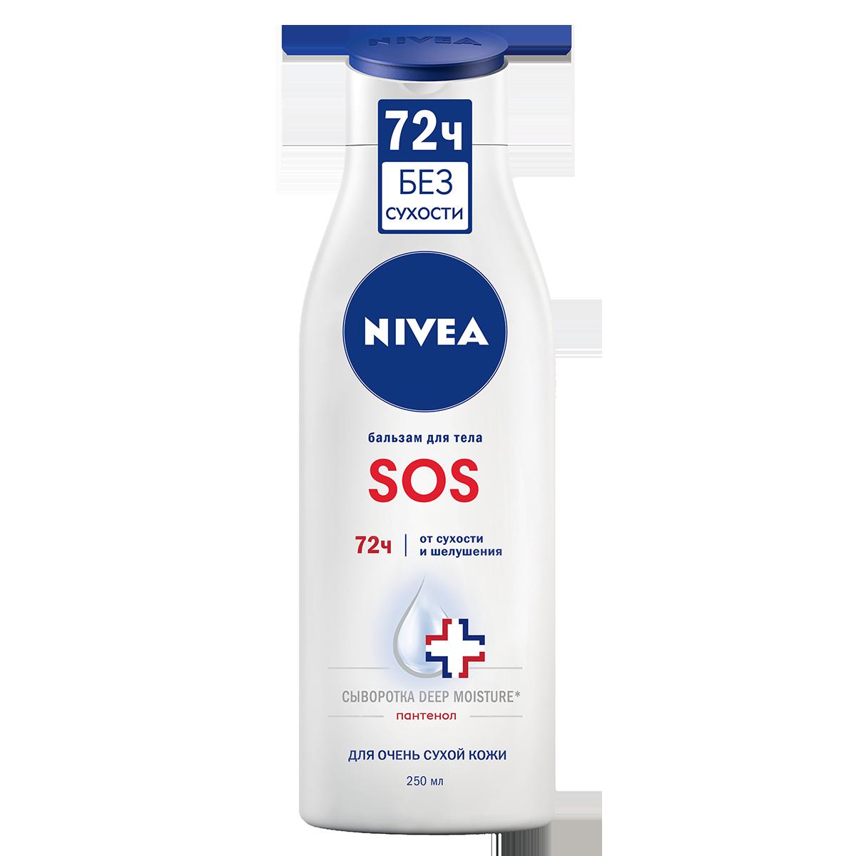 Средство для тела NIVEA Восстанавливающий SOS