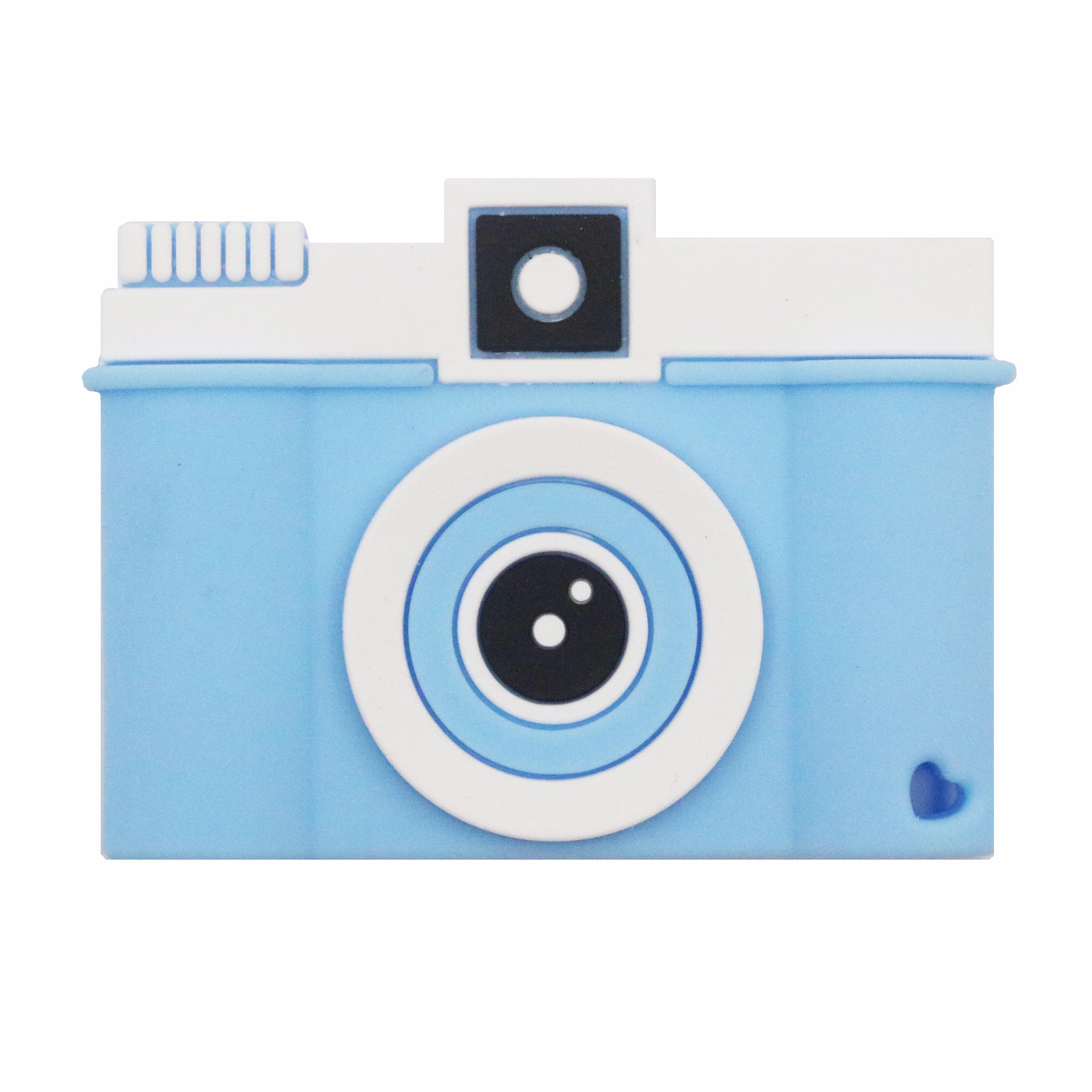 Прорезыватель для зубов Baby Fox Фотоаппарат цвет голубой BF-TEETOY-34 фото