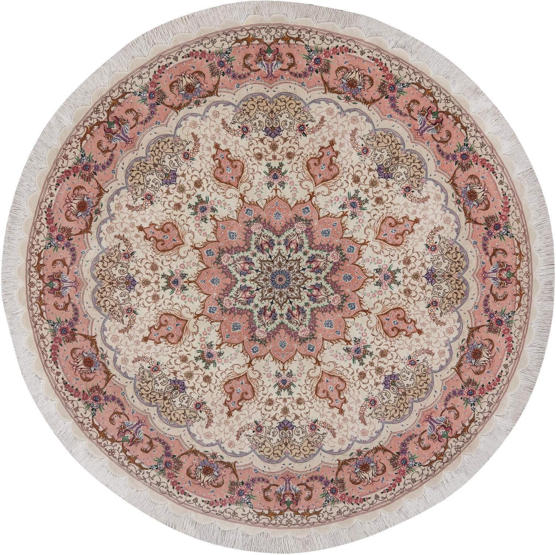 Круглый ковер  ручной работы коллекции «Tabriz 50 Ir», 50628, 207x207 см