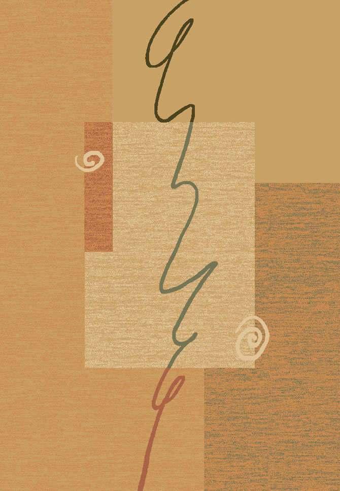 Шерстяной ковер коллекции «Tempo», 28292, 80x160 см