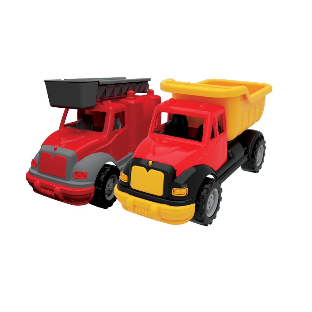 Купить Набор Грузовик и Пожарная машина 30 см Terides Т8-007,