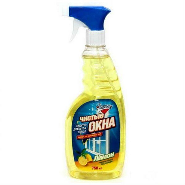 Средство Золушка чистые окна для стекол лимон