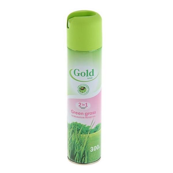 Освежитель воздуха Gold Wind скошенная трава 300 мл