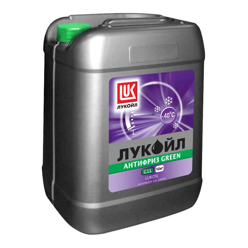 Антифриз LUKOIL Зеленый Готовый антифриз -41 10кг фото