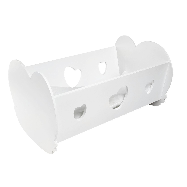 Кроватка-люлька для кукол PAREMO цвет белый