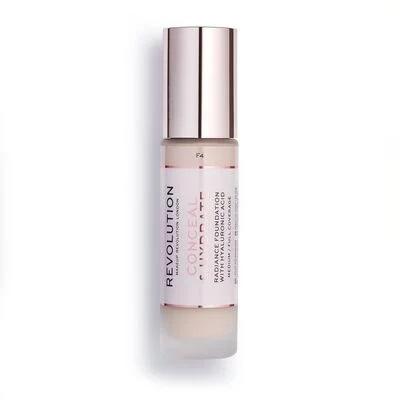 Купить Тональная основа Revolution Makeup Conceal & Hydrate - CONCEAL & HYDRATE F4, Revolution PRO