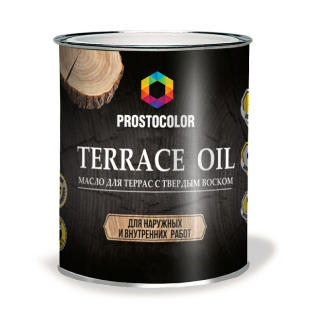 Масло для террас Prostocolor бесцветный 0,75л