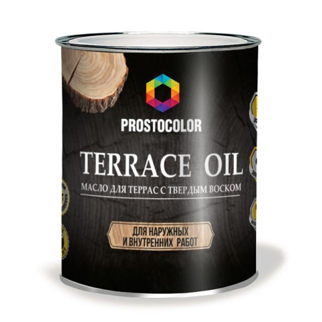 Масло для террас Prostocolor бесцветный 2,2л