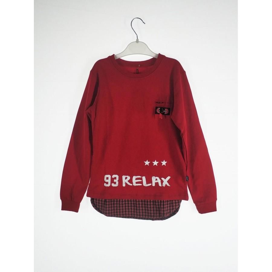 Джемпер для мальчиков TUFFY цв. красный р.122 4859-01