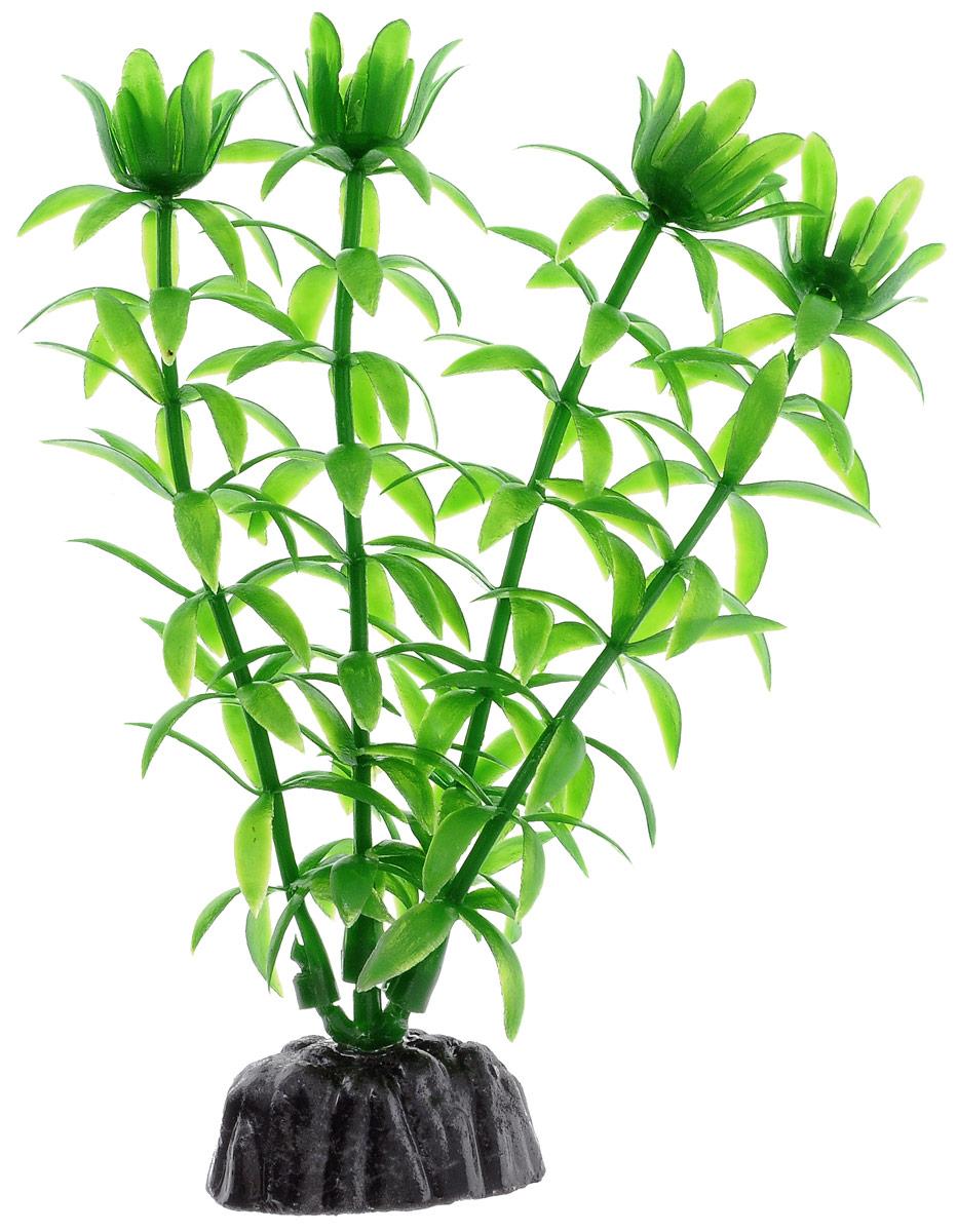 Растение для аквариума Barbus, пластик, Элодея зеленая,