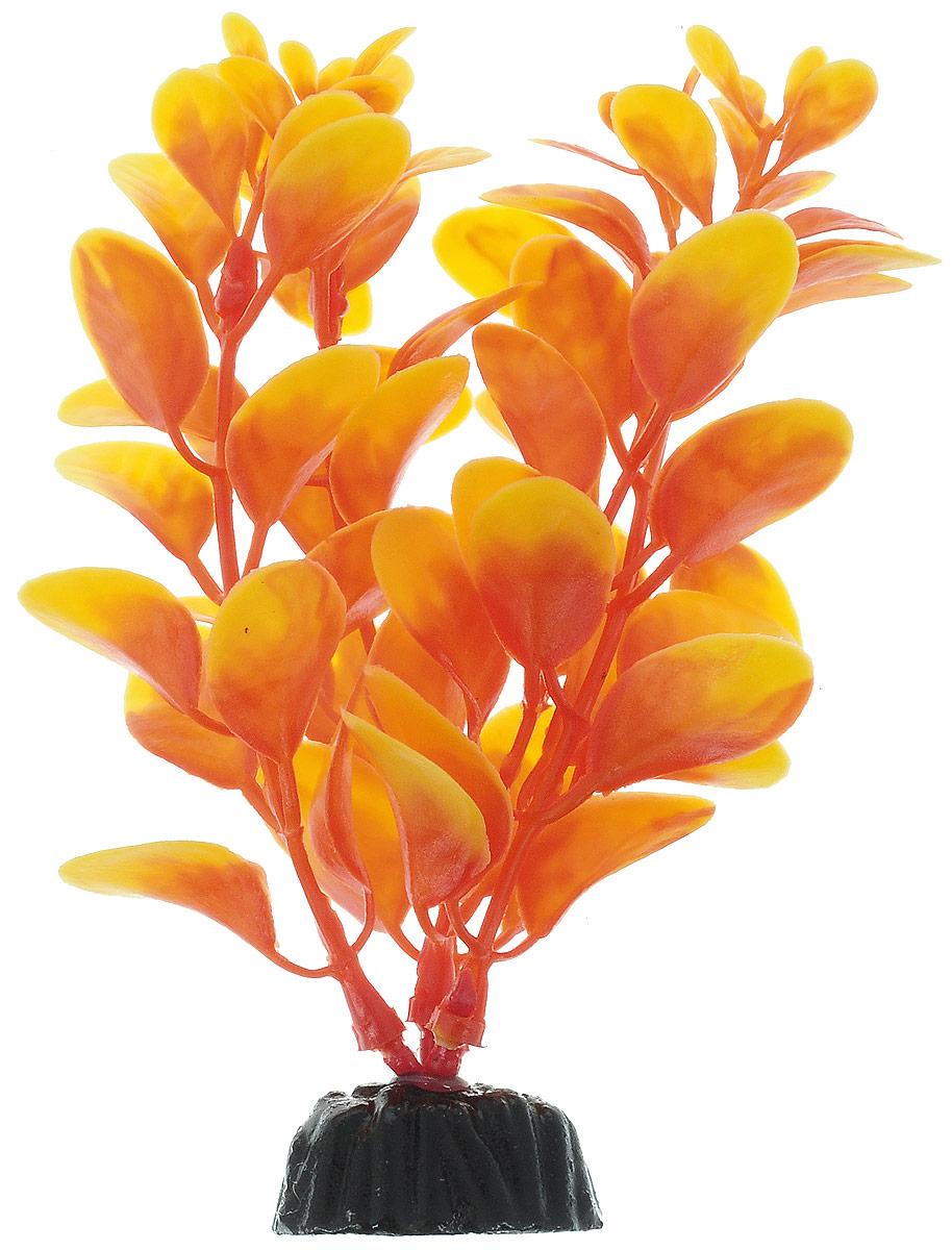 Растение для аквариума Barbus, пластик, Людвигия оранжевая,