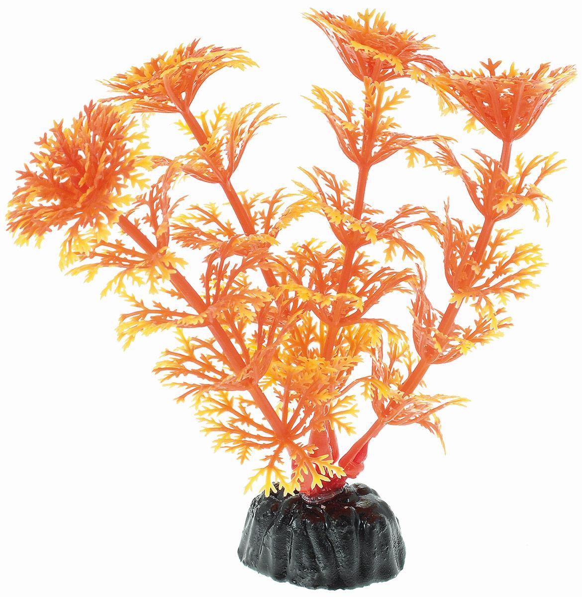 Растение для аквариума Barbus, пластик, Кабомба оранжевая,