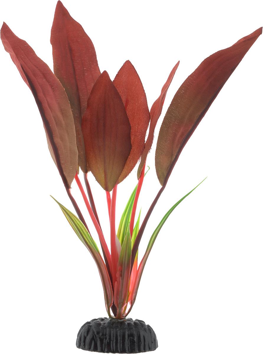 Искусственное растение для аквариума Barbus Криптокорина красная