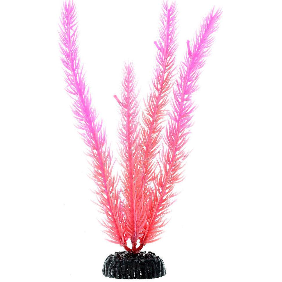 Искусственное растение для аквариума Barbus Перистолистник светящееся