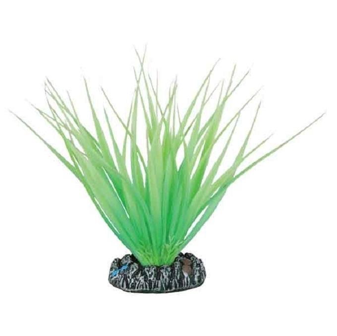 Искусственное растение для аквариума Barbus Акорус светящееся