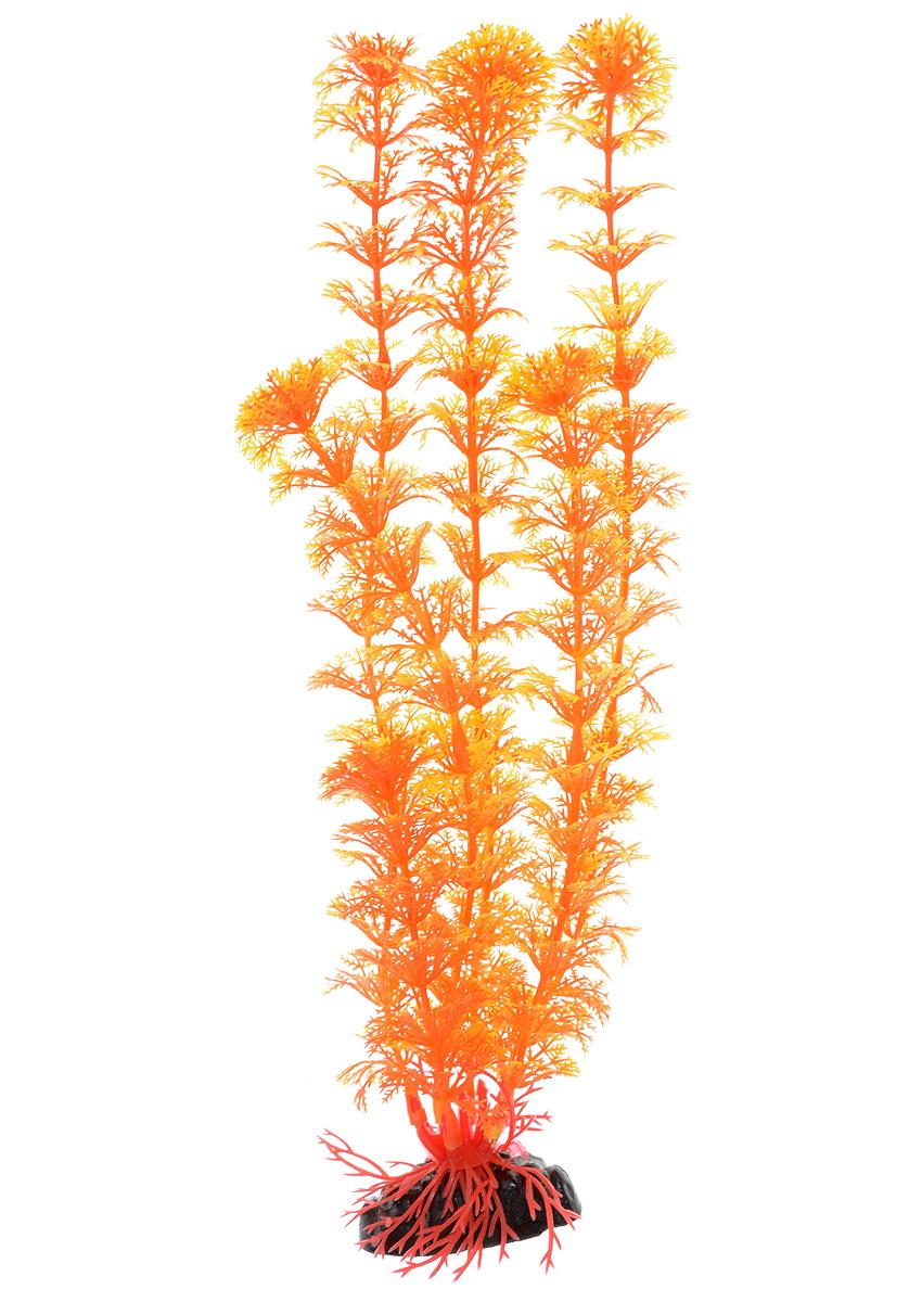 Искусственное растение для аквариума Barbus Кабомба оранжевая