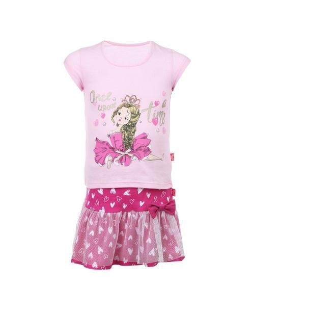 Комплект одежды Апрель, цв. розовый р.92