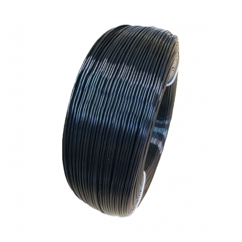 PETG пруток 1.75мм Черный 1кг, моток 2208-1