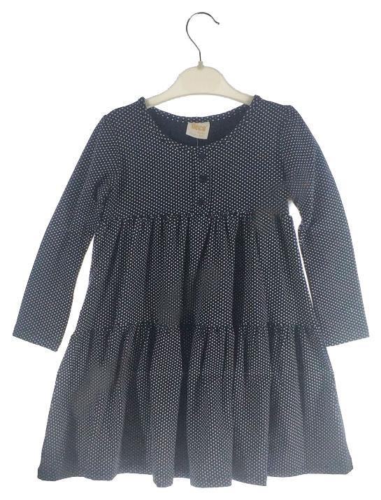 Платье для девочек DECO цв. черный р.92