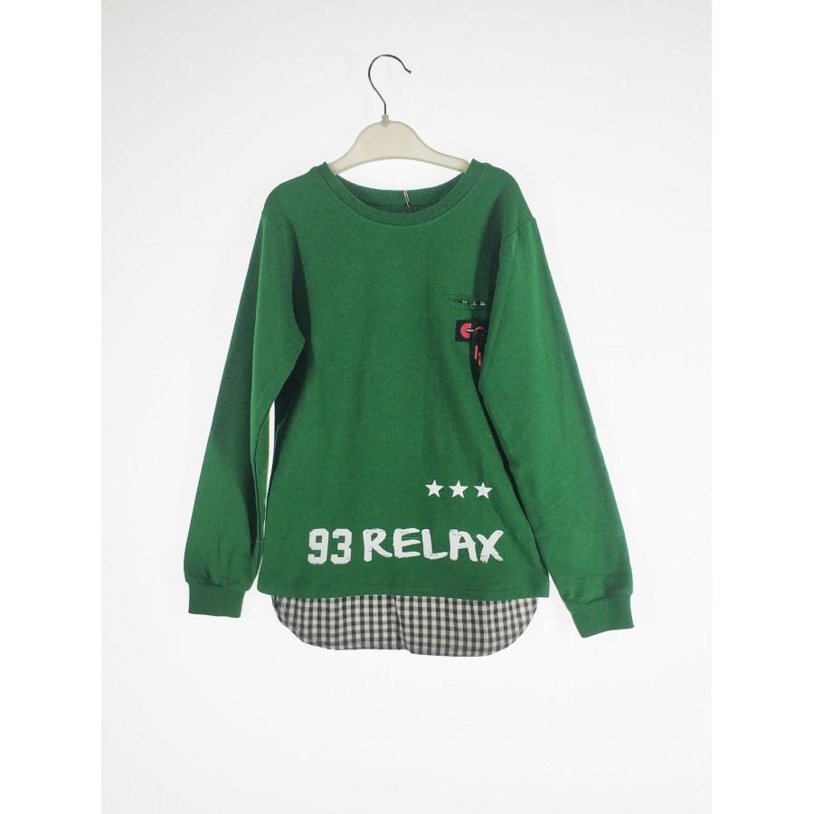 Джемпер для мальчиков TUFFY цв. зеленый р.116 4857-01
