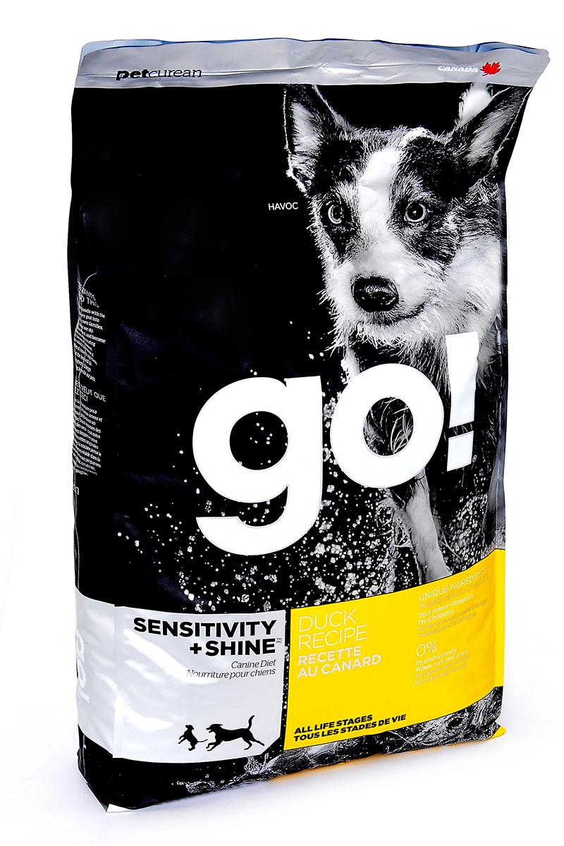 Сухой корм для собак и щенков GO! Sensitivities беззерновой все породы с уткой 1,59 кг