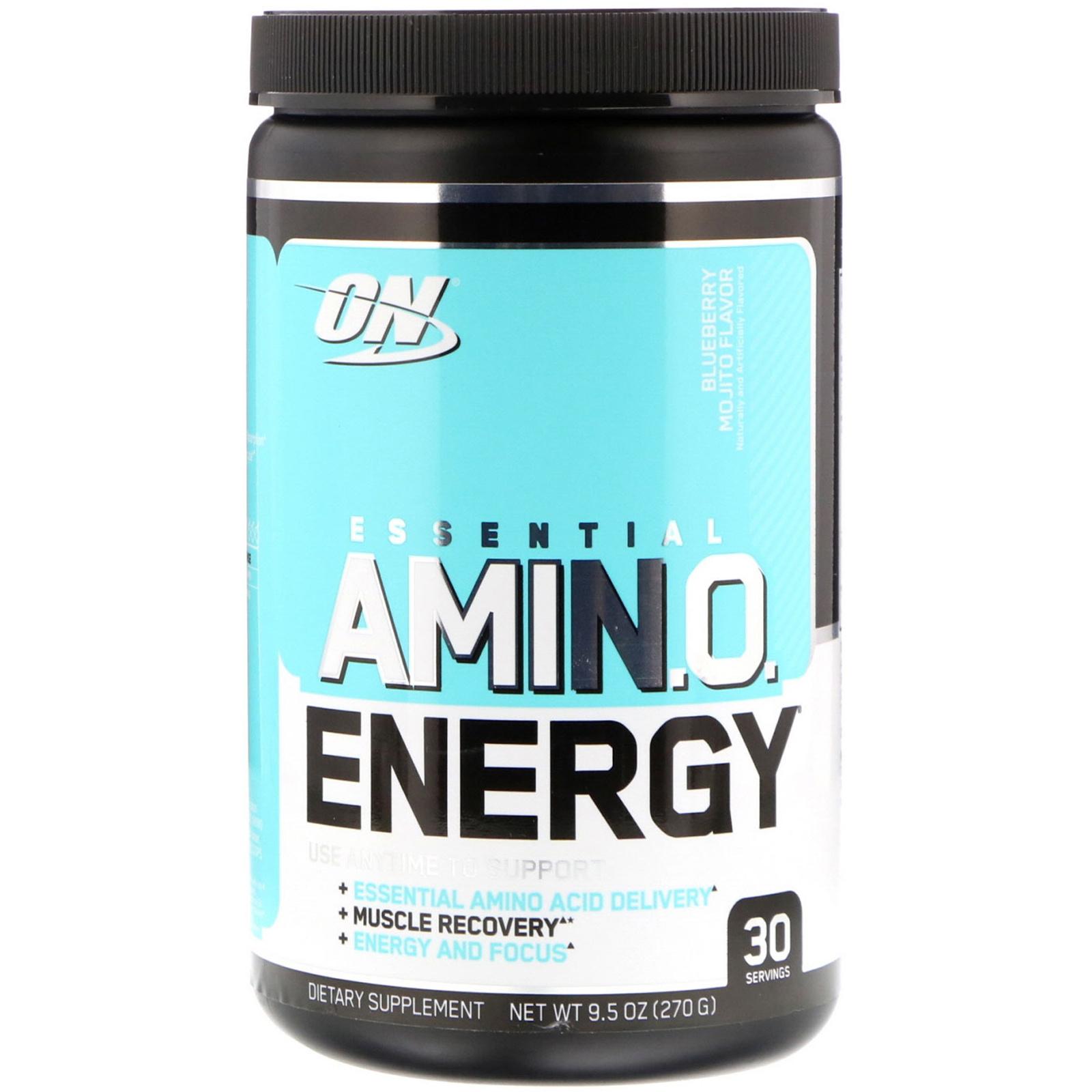 Optimum Nutrition Essential Amino Energy 270 г черничный