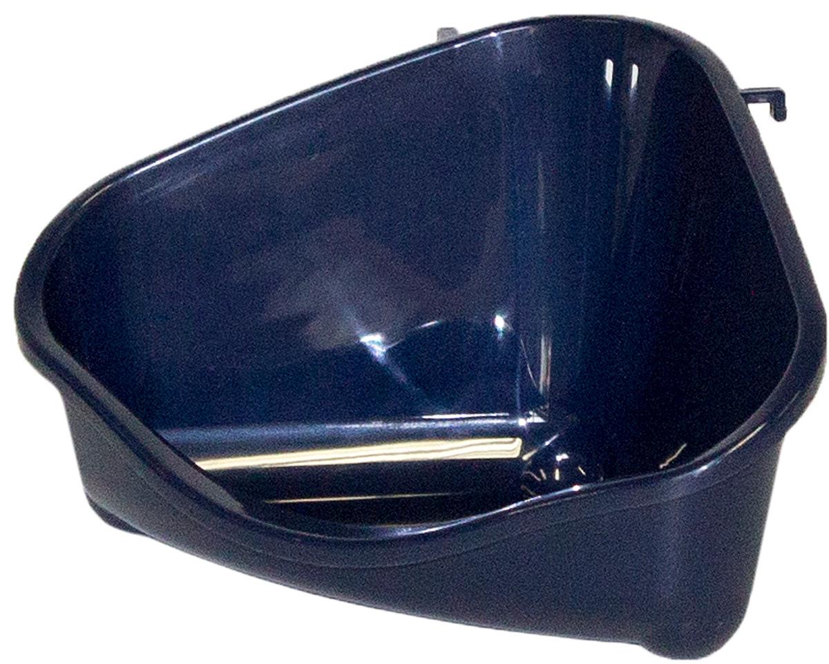 Туалет угловой для грызунов MODERNA черника маленький 18,3х12,7х9,6