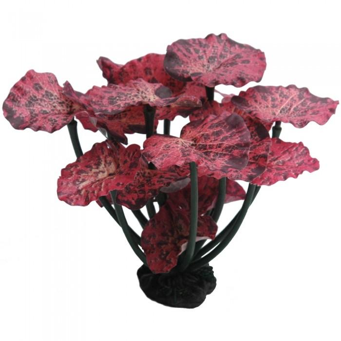 Растение для аквариума Prime шелковое Нимфея краповая