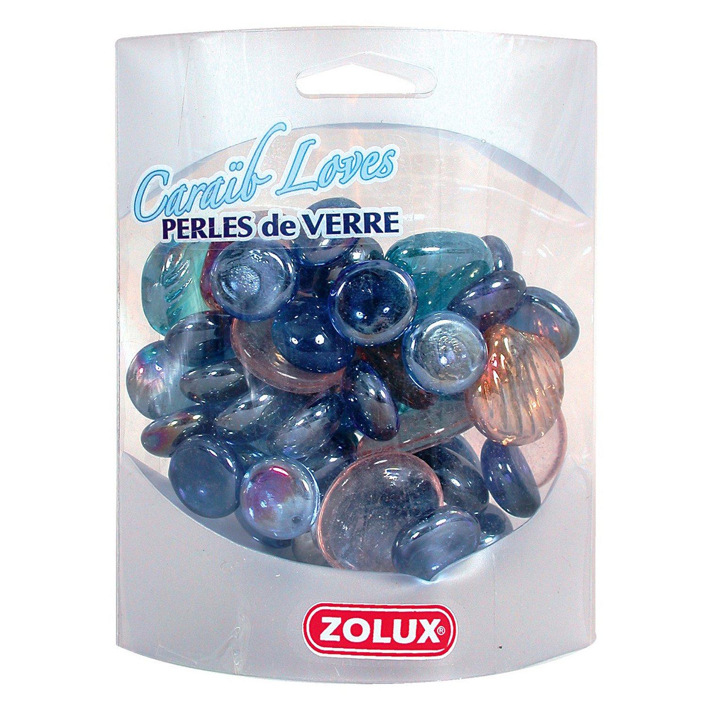 Декор для аквариума ZOLUX Карибская любовь стеклянный фиолетовый микс 430г