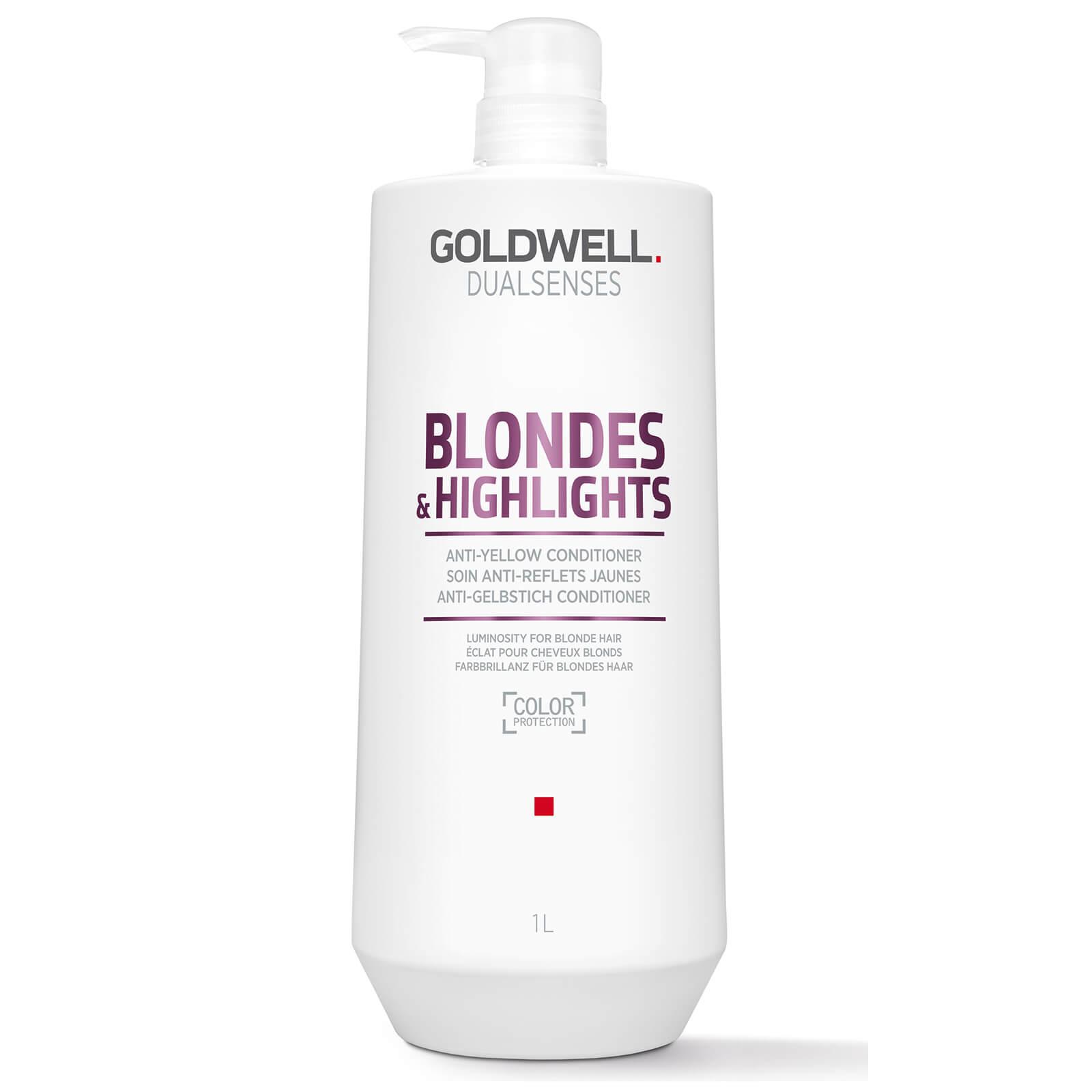 Купить Кондиционер против желтизны для осветленных волос Goldwell DS BL&HL 1000 мл